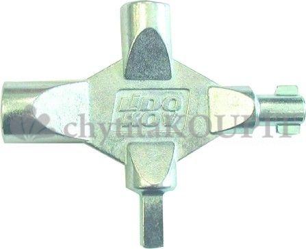 Klíč víceúčelový LK1 na rozvodné skříně 4 díly