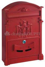 Schránka poštovní Rottner Ashford červená originál akce
