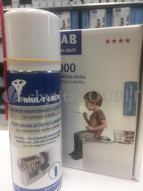 Mazadlo na vložky 200 ml Mul-T-Lock