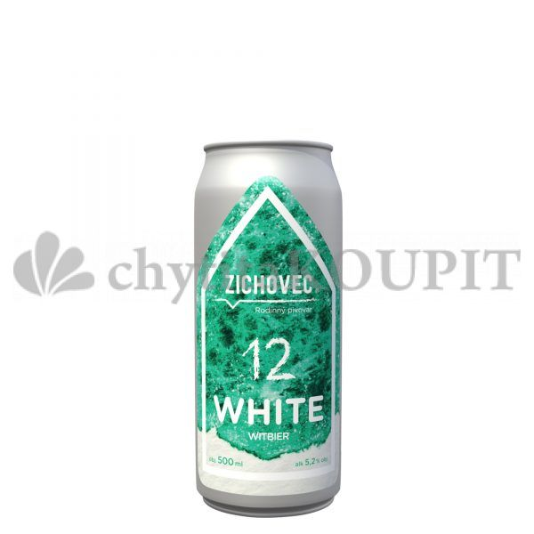 Pivo Zichovec WHITE 12 plech