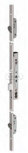 Samozamykací zámek Abloy EL466 elektromechanický multipoint - backset 35mm