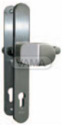 Bezpečnostní kování SX48 pro samozamykací zámky Abloy