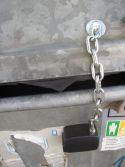 Zámečnictví - klíče : Zámek Konti na popelnice a kontejnery