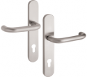 Zámečnictví - klíče : Bezpečnostní kování Vaasa 72mm klika-klika
