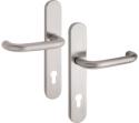 Zámečnictví - klíče : Bezpečnostní kování Vaasa 92mm klika-klika