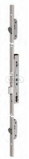 Zámečnictví - klíče : Samozamykací zámek Abloy EL466 elektromechanický multipoint - backset 40mm