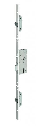 Zámečnictví - klíče : Samozamykací zámek Abloy EL166 mechanický multipoint - backset 55mm