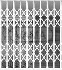Mříž nůžková - mříže
