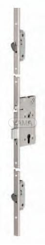 Zámečnictví - klíče : Samozamykací zámek Abloy EL566 elektromechanický multipoint - backset 55mm