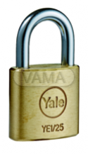 Zámečnictví - klíče : Visací zámek Yale - YE1/25/113/1