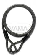Zámečnictví - klíče : Ocelové lanko YCBL1/8/2000