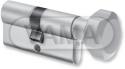 Vložka Evva FPS-ZP 31+36mm s knoflíkem